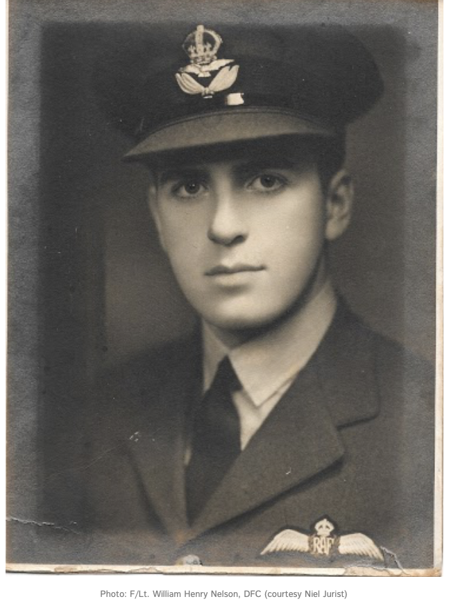 Flight Lieutenant William Henry Nelson, DFC (Courtesy Niel Jurist)