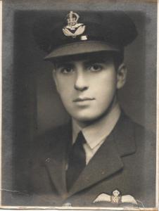 Flight Lieutenant William Henry Nelson, DFC (Courtesy Niel Jurist)